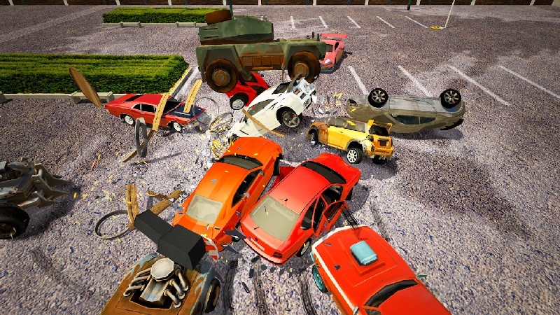 Derby Destruction Simulator APK MOD imagen 4