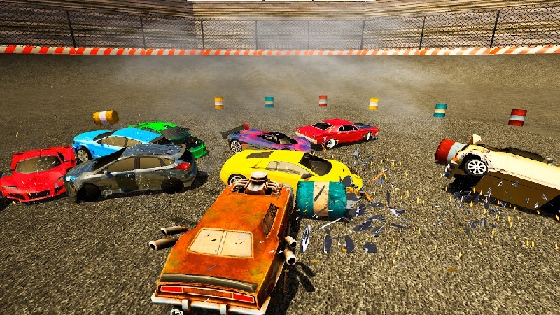 Derby Destruction Simulator APK MOD imagen 5