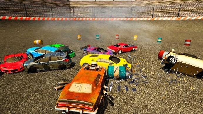 Derby Destruction Simulator APK MOD imagen 5