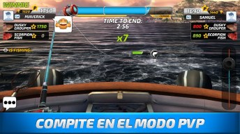 Fishing Clash Catching Fish Game. Bass Hunting 3D APK MOD imagen 3