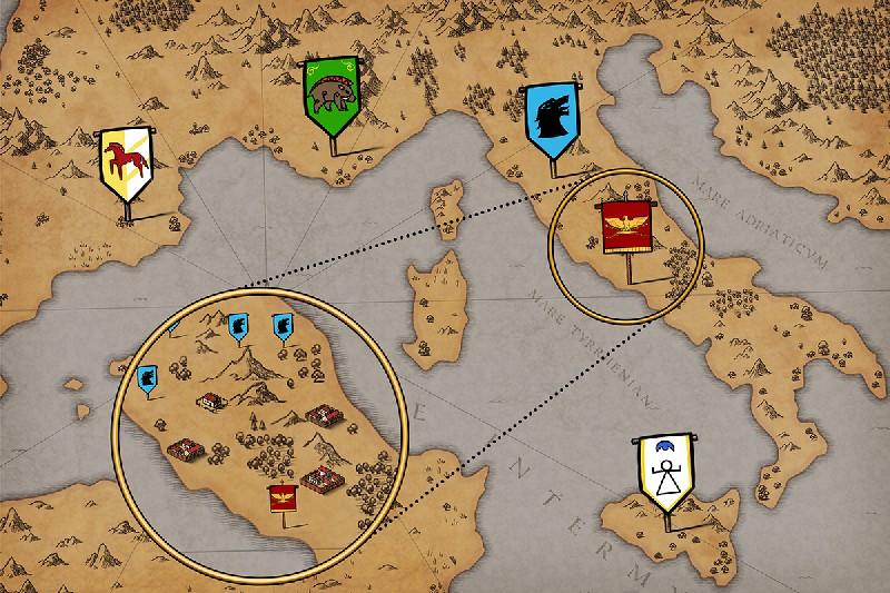 Grow Empire: Rome APK MOD imagen 3