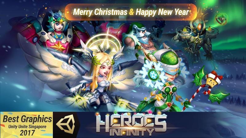 Heroes Infinity Gods Future Fight APK MOD imagen 1