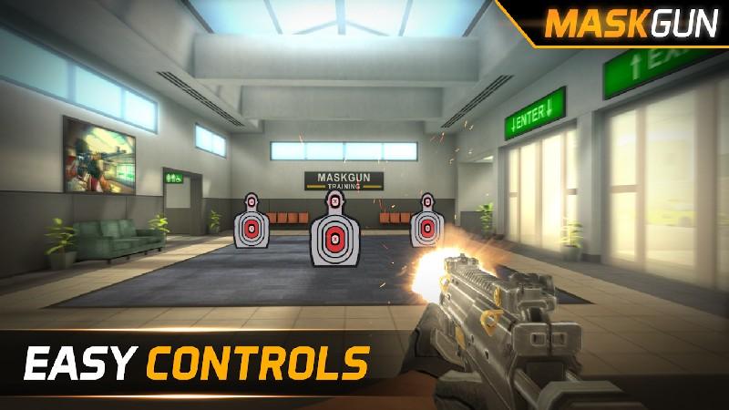 MaskGun - FPS multijugador APK MOD imagen 1