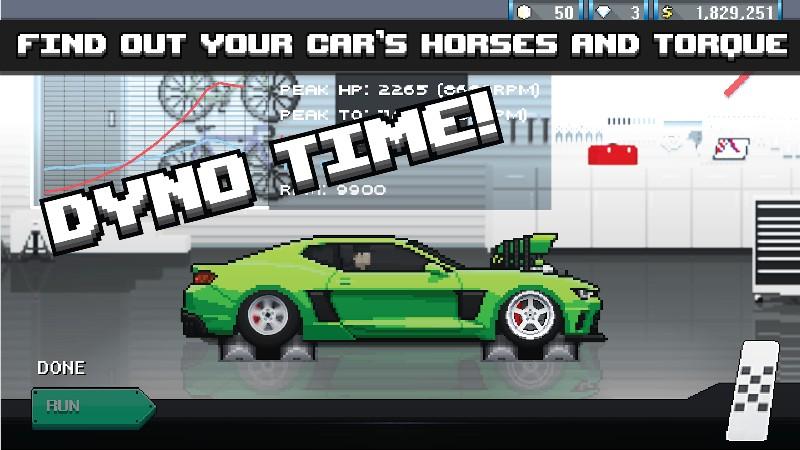 Pixel Car Racer APK MOD imagen 3