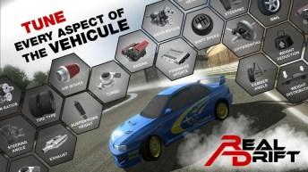 Real Drift Car Racing Lite APK MOD imagen 4