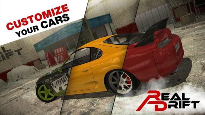 Real Drift Car Racing Lite APK MOD imagen 5