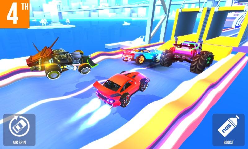 SUP Multiplayer Racing APK MOD imagen 2