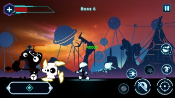 Stickman Ghost 2 Galaxy Wars APK MOD imagen 4