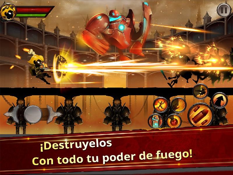 Stickman Legends - Ninja Warriors Shadow War APK MOD imagen 2