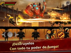 Stickman Legends - Ninja Warriors Shadow War APK MOD imagen 2