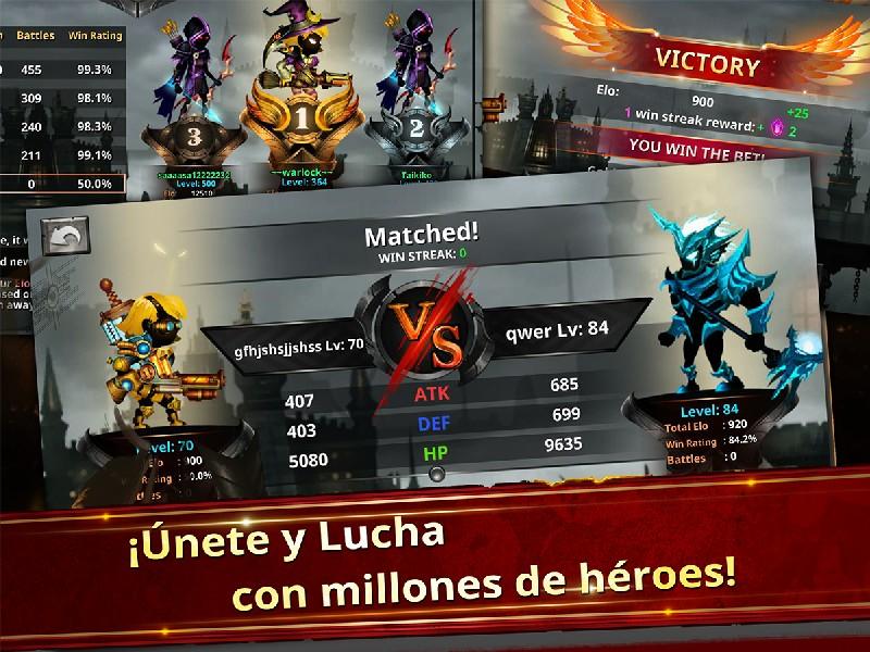 Stickman Legends - Ninja Warriors Shadow War APK MOD imagen 4