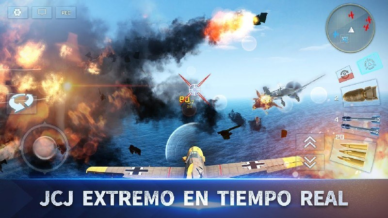 War Wings APK MOD imagen 3