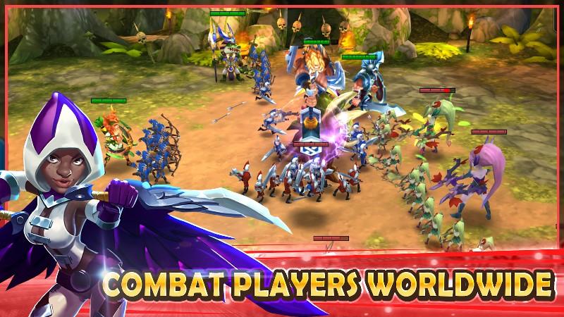 Wartide: Heroes of Atlantis APK MOD imagen 3