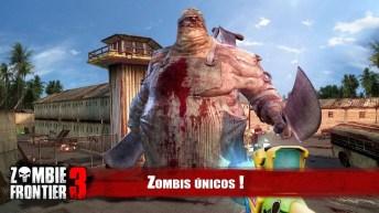 Zombie Frontier 3 APK MOD imagen 2