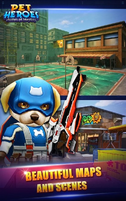 Action of Mayday: Pet Heroes imagen 3