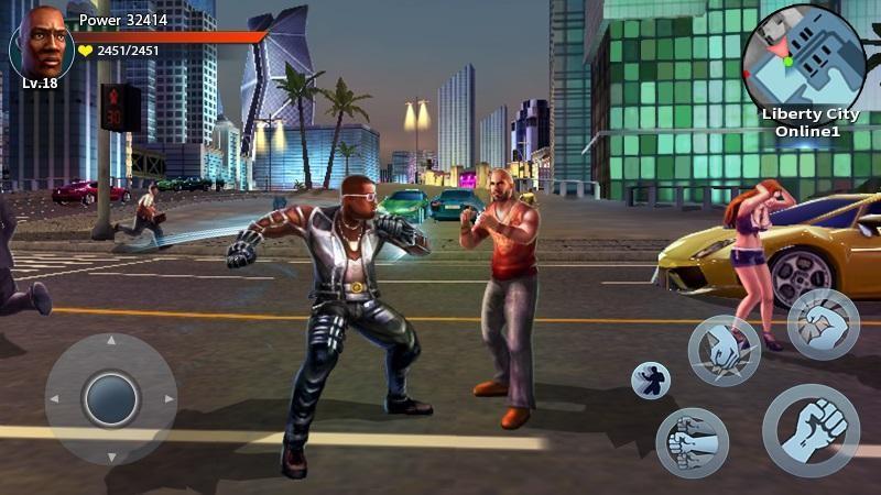 Auto Theft Gangsters APK MOD imagen 2
