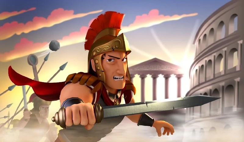 Battle Empire Rome War Game APK MOD imagen 1