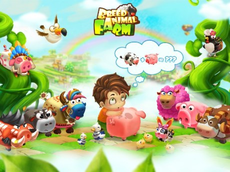 Breed Animal Farm APK MOD imagen 1