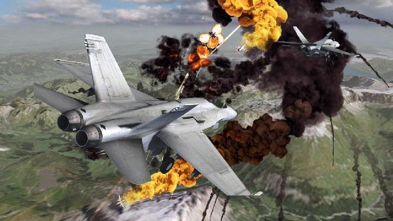 Call of Infinite Air Warfare APK MOD imagen 2