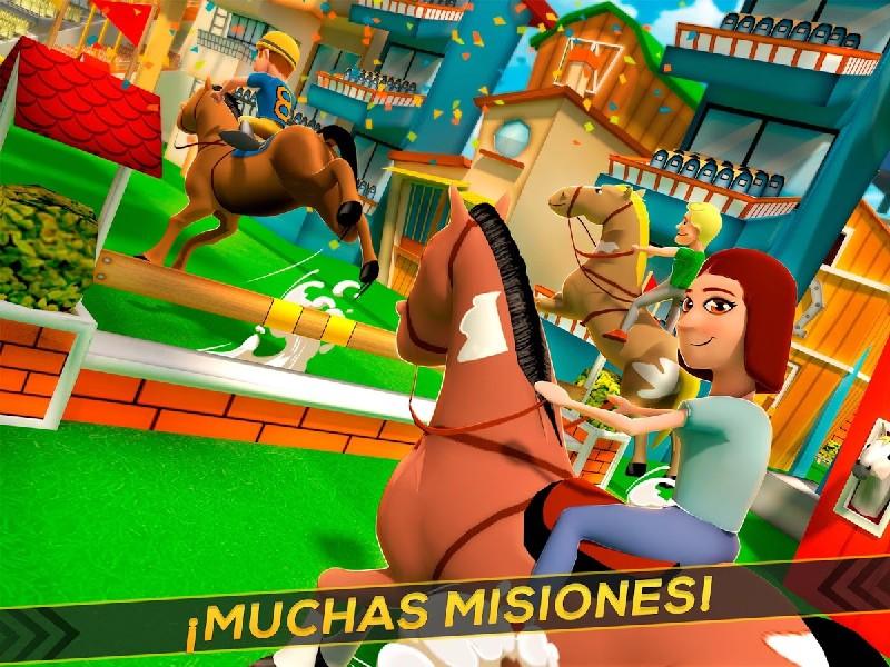 Cartoon Horse Riding Game APK MOD imagen 5