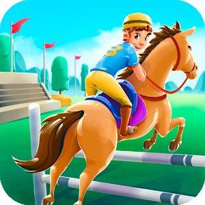 Cartoon Horse Riding Game APK MOD