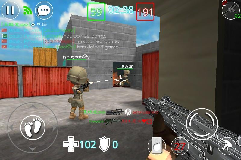 Critical Strikers Online FPS APK MOD imagen 3