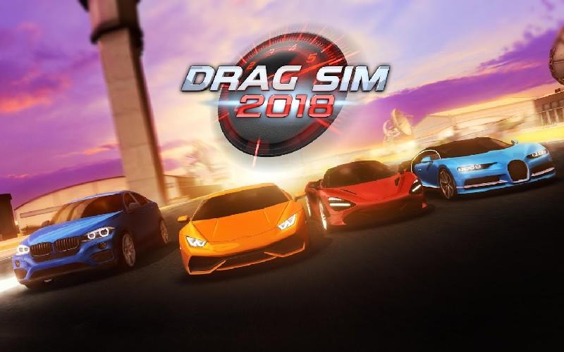 Drag Sim 2018 APK MOD imagen 1