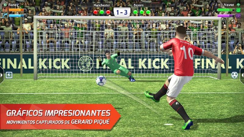 Final kick: Online football APK MOD imagen 3