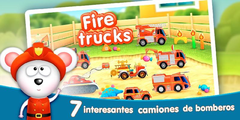 Firetrucks Rescue for Kids APK MOD imagen 1