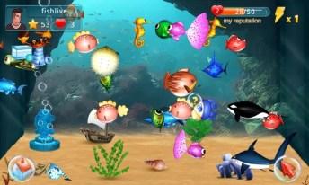 Fish Live APK MOD imagen 1
