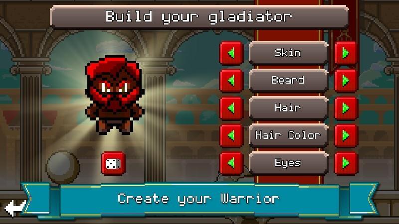 Gladiator Rising Roguelike RPG APK MOD imagen 3