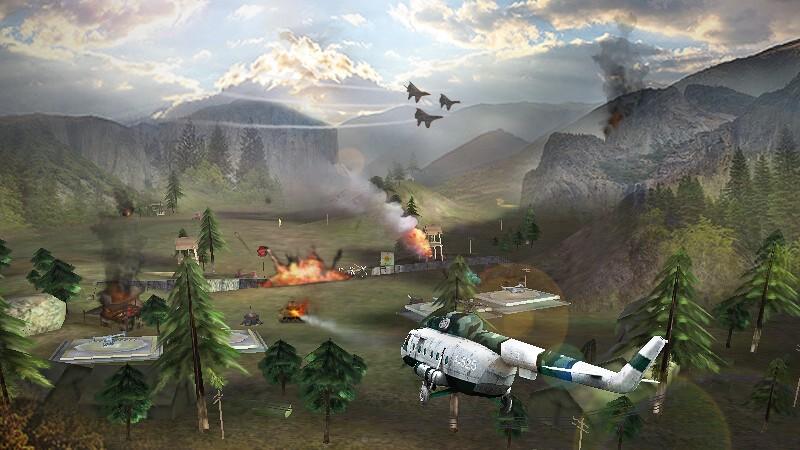 Gunship Strike 3D APK MOD imagen 4