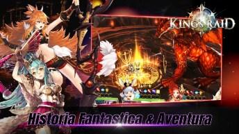 King's Raid APK MOD imagen 2