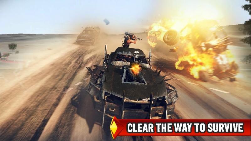 Mad Death Race: Max Road Rage APK MOD imagen 4