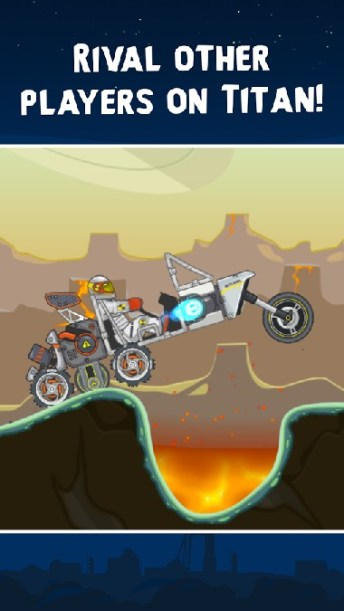 RoverCraft Race Your Space Car APK MOD imagen 4