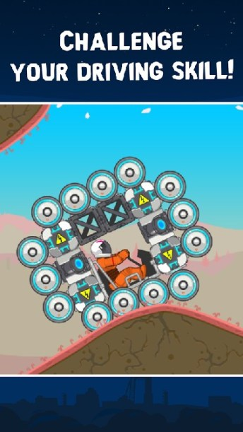 RoverCraft Race Your Space Car APK MOD imagen 5