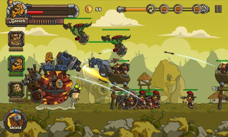 Snail Battles APK MOD imagen 3