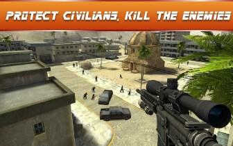 Sniper Ops - 3D Shooting Game APK MOD imagen 5
