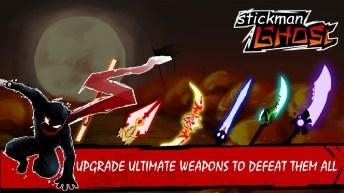 Stickman Ghost Ninja Warrior APK MOD imagen 2