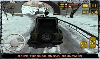 Army War Truck Driver Sim 3D APK MOD imagen 1