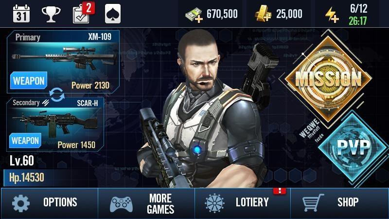 Elite Killer SWAT APK MOD imagen 5