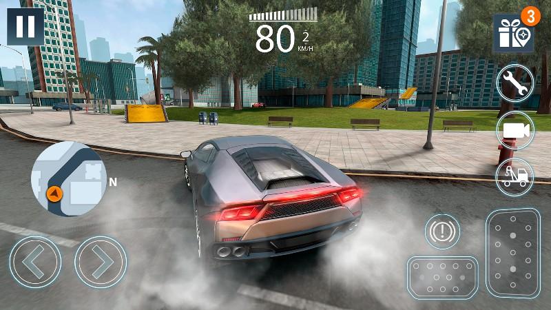 Extreme Car Driving Simulator 2 APK MOD imagen 1