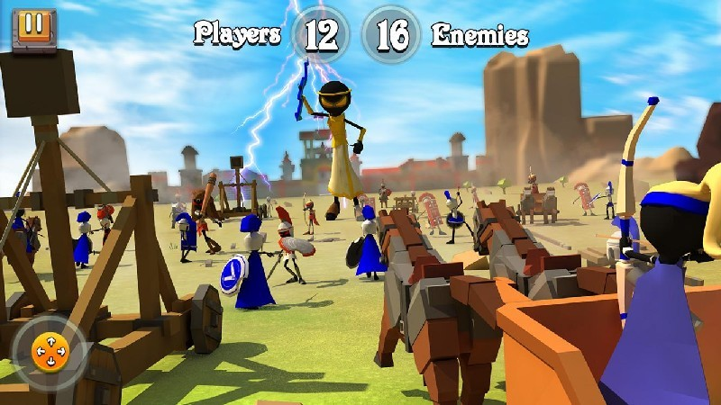 Greek Warriors Castle Defence APK MOD imagen 3