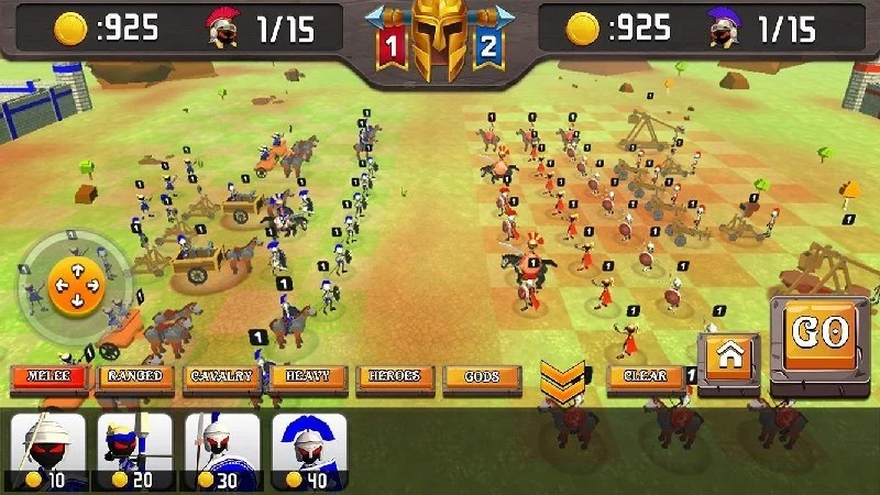 Greek Warriors Castle Defence APK MOD imagen 4