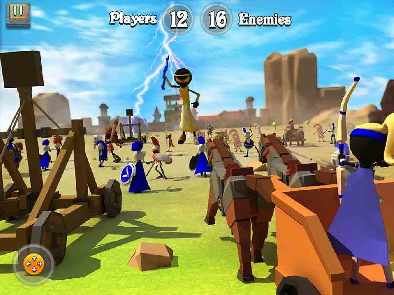 Greek Warriors Castle Defence APK MOD imagen 5