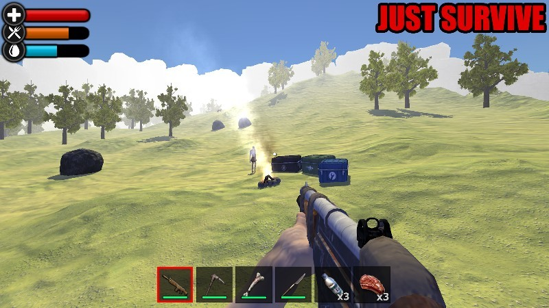 Just Survive Raft Survival Island Simulator APK MOD imagen 1