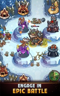 Kingdom Defense Hero Legend TD (Tower Defense) APK MOD imagen 1