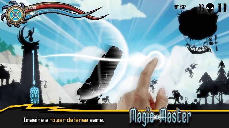 Magic Master Tower Defense APK MOD imagen 2