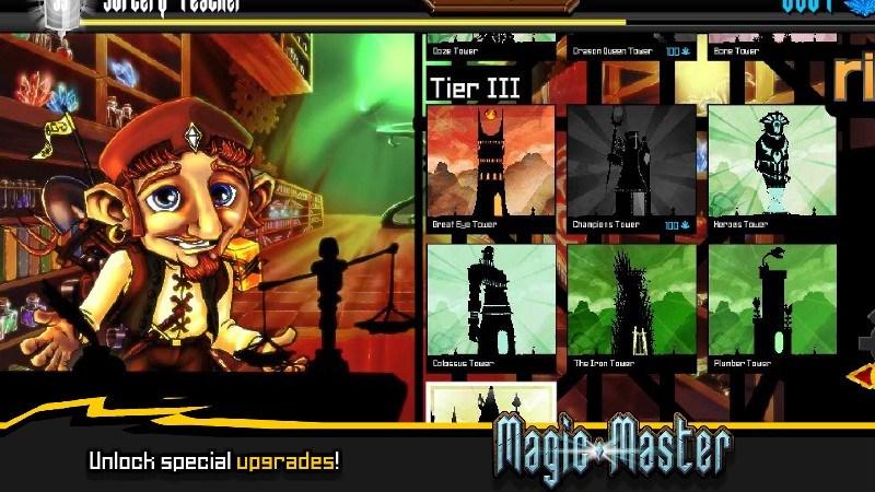 Magic Master Tower Defense APK MOD imagen 5