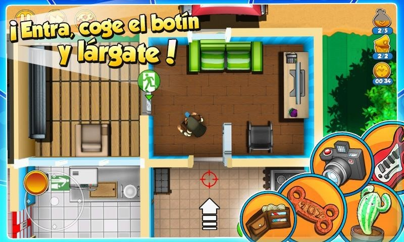 Robbery Bob 2 Double Trouble APK MOD imagen 4